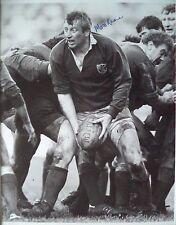Moss Keane – 1984 Irlanda Rugby Autografato B & W Fotografia