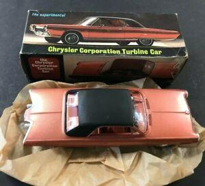 1964 WORLDS FAIR CHRYSLER CORPORATION TURBINE CAR NEW IN BOX MINT COND!! RARE
