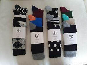 **Original Happy Socks Unisex Cotton 12 Pairs New Men/Women Size 7-11 41-46**