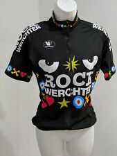 RARE CYCLING SHIRT JERSEY ROCK WERCHTER VERMARC SPECIALIZED SIZE SMALL S Black