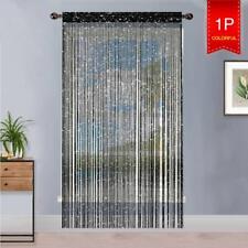 AIZESI 90 x 200cm String Curtains Panel, Fly Screen Door Curtain,Doorways Divid