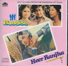 BANDISH / HEER RANJHA - 2 FILM SONGS IN ONE CD - FREE UK POST