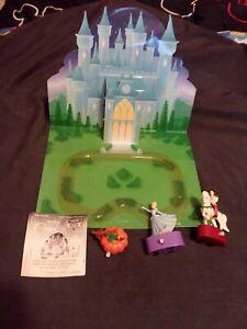 United Kingdom Burger King & Disney's 1993 Cinderella Toys  Set of 4 *RARE*