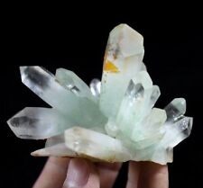 Good Condition Green Quartz with Fuchsite inclusion w/ Hemitite Coating CM582826
