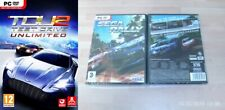 test drive unlimited 2 USED    & adrenalin extreme show & sega rally  NEW&SEALED