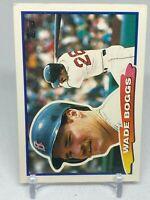 1988 Topps Big #32 Wade Boggs Boston Red Sox HOF