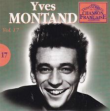 CD CARTONNE CARD SLEEVE 25T YVES MONTAND TRIOMPHES DE LA CHANSON FRANCAISE 2003