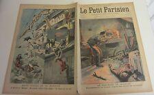 petit parisien 1907 978 Meurtre de Belrupt accident bateau mousses vergue