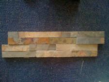 Ledger Stone panels color: Autumn Rose