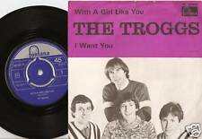 THE TROGGS A GIRL LIKE YOU NORWAY 45+PS 1966 MOD GARAGE FREAKBEAT PSYCH