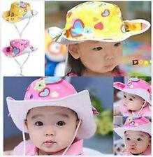 Baby Toddler Kids Girl Boy Children Denim Floppy Cowboy Cap Sunhat Sun Hat Gift