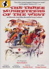 Three Musketeers of the West DVD 1973 Dorado Films George Eastman Corbucci
