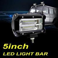 "5""inch 168W CREE LED Work Light Bar Fogs Spot Offroad Driving Pods ATV UTV 4"" 6"""