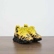 NEW VERSACE Chain Reaction Yellow Shoe Sneakers 8US 7.5UK 41EU.