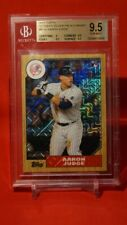 Aaron Judge 2017 Topps '87 Silver Pack Chrome New York Yankees BGS 9.5