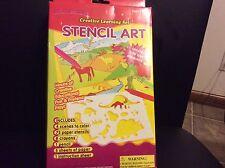 Children's creative color learning set stencil set