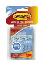 Command Clear Adhesive Strip by 3m Company, 3Pk