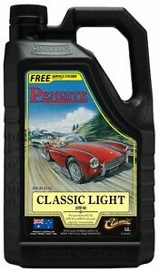 Penrite Classic Light 20W-60 Engine Oil 5L fits Volkswagen Karmann Ghia 1200,...