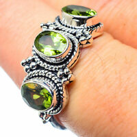 Peridot 925 Sterling Silver Ring Size 8.5 Ana Co Jewelry R26218F