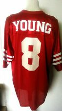 San Francisco 49ers (Steve Young 8) Vintage American Football Jersey (Adult XL)