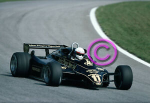 RACING Original 35mm Slide F1 Elio de Angelis - Lotus WIN 1982 Austria Formula 1