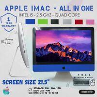 """APPLE IMAC A1311 ALL IN ONE INTEL CORE i5 2nd GEN 21.5"""" WEBCAM KEYBOARD MOUSE"""