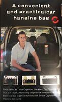 Multi Mesh Pocket Hanging Car Boot Car Seat Tidy Storage Organiser Black UK