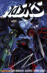 MASKS VOL #1 TPB Roberson, Ross, Comics #1-8 TP SHADOW, GREEN HORNET, ZORRO, ETC