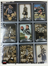 "COLLINGWOOD FOOTBALL CLUB INAUGURAL HALL OF FAME"" Trading Card Set (110)-RARE"