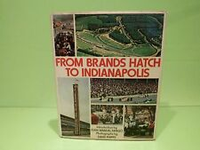 BOOK FROM BRANDS HATCH TO INDIANAPOLIS - F1 FANGIO - 1974  GOOD CONDITION