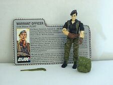 "GI Joe Flint Warrant Officer 1985 Hasbro 3 3/4"" figure"