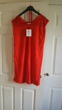 Mamalicious Maternity Pregnant Red Shift Dress Size M BNWT