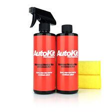 AutoKit Waterless Car Wash, Carnauba Wax, Lightning Car Cleaner No Grease 1000ml
