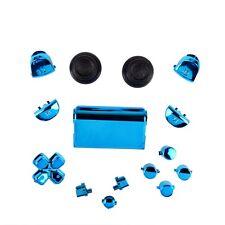 Sony PS4 Playstation 4 Full Button Set Chrom-Optik - Blue
