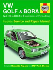 3727 Haynes VW Golf & Bora Petrol & Diesel (April 1998 - 2000) Workshop Manual