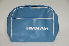 Original PAN AM Airlines Vintage Flight Attendant Vinyl Carry-on Bag - USA Made