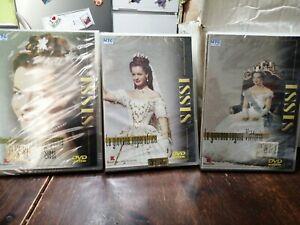 La Principessa Sissi Trilogia DVD Nuovi Sigillati Con Extra