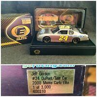 Jeff Gordon #24 Dupont/test Car 2000 Monte Carlo Elite