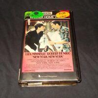 New York New York vhs Pal Warner De Niro Scorsese Original Case