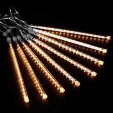 30CM LED Schneefall-Meteor Lichterkette Meteorschauer Weihnachten Lichteffekt DE