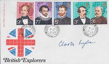 EVEREST Climber Charles WYLIE SIGNED FDC AFTAL Autograph COA British Explorer