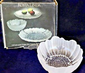 Vintage Retro KOSTA Linda Lydia Bowl 11.5cm diameter Designed Mats Jonasson