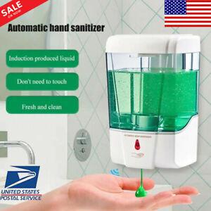 700ML Automatic Soap Dispenser Sanitizer Handsfree IR Sensor Touchless Smart