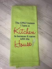 Kitchen Hand Towel Tea Towel Kitchen Birthday Easter Gift Idea