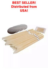 10 Pc natural beeswax candles For Ear Candling Wax Removal Ear Coning NY Stock