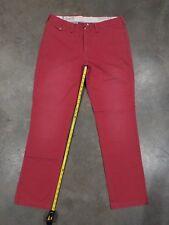 Used Mens Ralph Lauren Jeans In Dark Pink Sz.36
