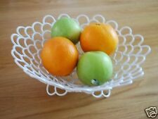 Wrought Iron French Style Fruit Toast Basket Bowl 001