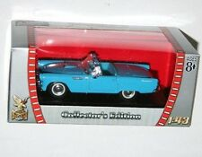 Road Signature - FORD THUNDERBIRD (1955) Blue - Model Scale 1:43