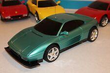 "VINTAGE TYCO FERRARI 348 GTB RC Car The ""ELUSIVE"" Amazing Green 1/10 Scale RARE!"
