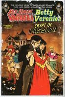 Red Sonja Vampirella Meet Betty & Veronica #9 Variant Cover B Hack